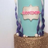 Under the Sea themed Mermaid Cake!
