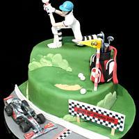 Favourite sports cake