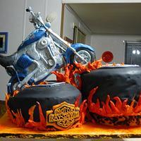 harliy wedding cake