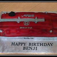 Honda V-tech Motor Cake
