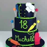 Cake for chef
