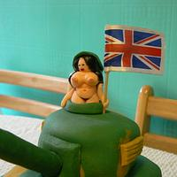 G I Jane's with Tank! by Anita's Cakes