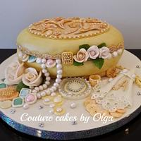 Jewelry box BD cake