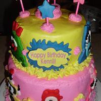 A Yo Gabba Gabba Cake