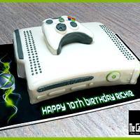 THE X BOX CAKE