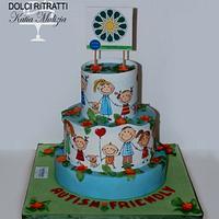Autism Children Cake