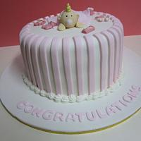 Alicia's Baby Shower Cake