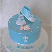 Christening cake for Michal