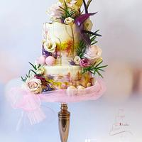 Sweet 18 cake