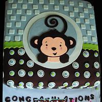 Monkey Boy Cake