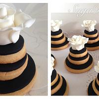 Chanel inspired Cookie Stack