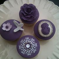 Wedding cupcake samplers