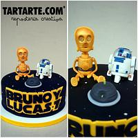 Star Wars Cake for twins