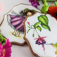 Color Bloom Cookies