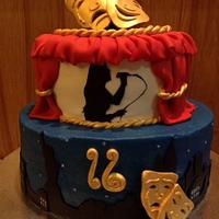 Broadway Theater cake