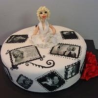Marilyn Monroe cake by liesel