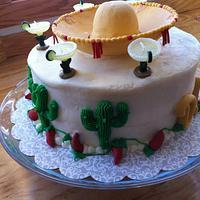 Fiesta Birthday Cake by CrystalMemories