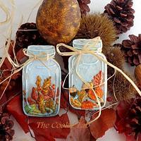 Autumn in a jar!