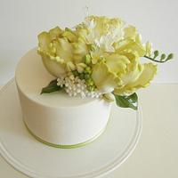 Parrot Tulips and Freesia  by Petalsweet
