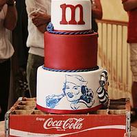 Vintage Coca-Cola Cake