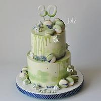 Drtip cake