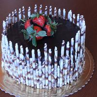 chocolate cake by Anka