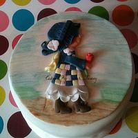 Hollie Hobby cake  by sarahtosney