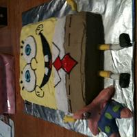 Sponge Bob and Patrick  by michelle