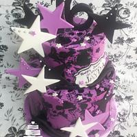 Purple Skull Sweet 16th