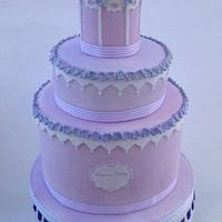 lilac mini birdcage