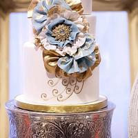 Nautical Boudoir Cake