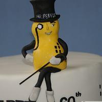 Mr Peanut Cake