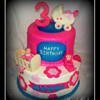 Babydoll Birthday Cake