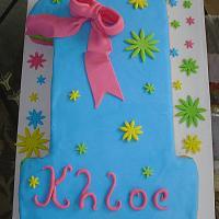 Number 1 Birthday Cake