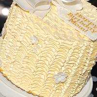 Tall Buttercream Ruffles
