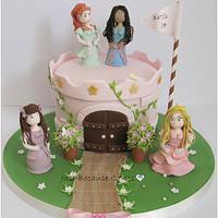 Barbie and her Princesses