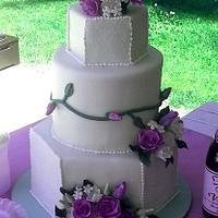 Sherry and Greg's cake