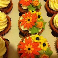 Cupcakes in Fall