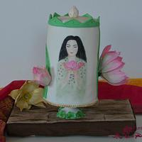 Padme - Festival of Vesak cake collaboration