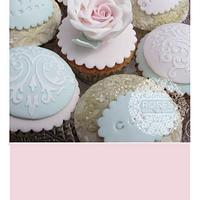 Carol 70th birthday cupcakes