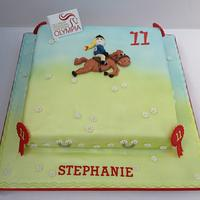 A Cake for a Horsey Girls Birthday.