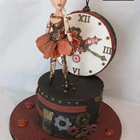 """Steam Cakes- Steampunk Collaboration """" Musical Time Box"""""""