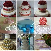 My wedding cake collection