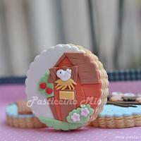 Farm Animals Cookies by Pasticcino Mio
