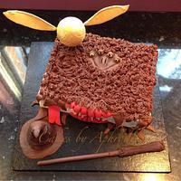 Harry Potter 7th birthday cake