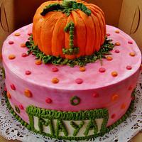 Girly Pumpkin 1st birthday~