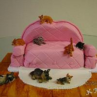 The Crazy Cat Lady Cake