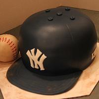 Yankee cap cake