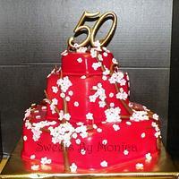 Cherry Blossom 50th Birthday