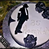 Michael Jackson tribute cake